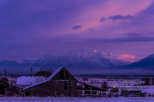 Old barn with snow at sunrise-c4.jpg