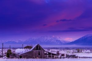 Old barn with snow at sunrise_2-c71.jpg